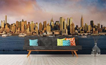 Fototapeta panorama Manhattanu