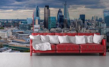 Fototapeta panorama miasta Londyn