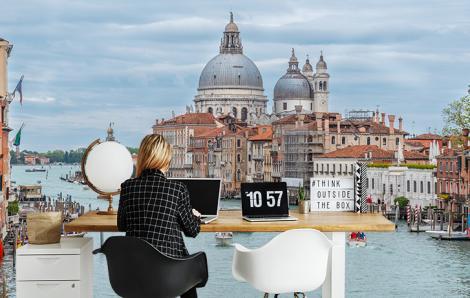 Fototapeta panorama miasta Wenecja