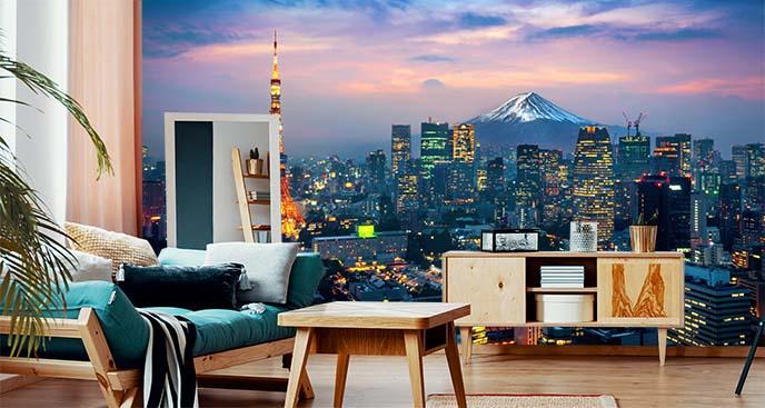 Fototapeta panorama Tokio
