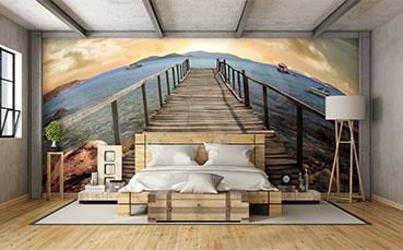 Fototapeta panoramiczna - most