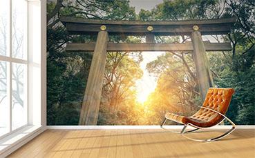 Fototapeta park japoński