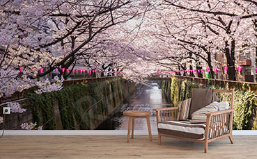 Fototapeta park w Tokio