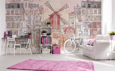 Fototapeta dla nastolatki Paryż