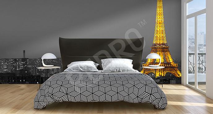 Fototapeta Paryż nocą