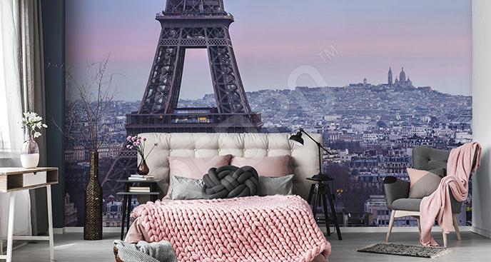 Fototapeta Paryż o zmierzchu