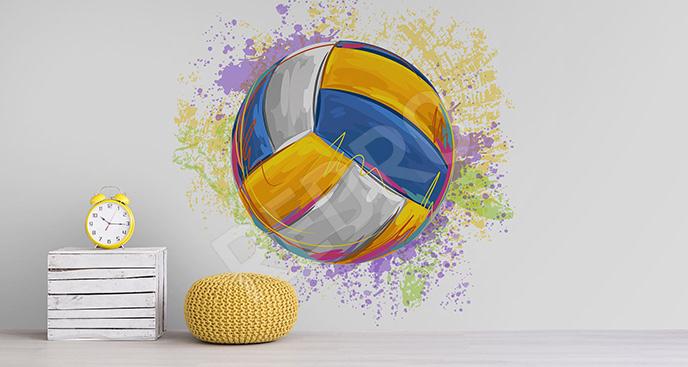 Fototapeta piłka do siatkówki