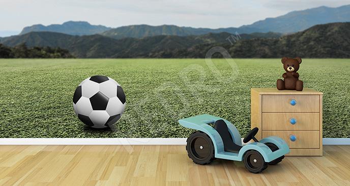 Fototapeta piłka nożna 3D
