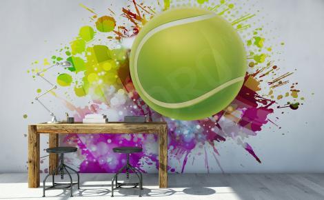 Fototapeta piłka tenisowa
