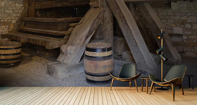 Fototapeta piwnica podziemna