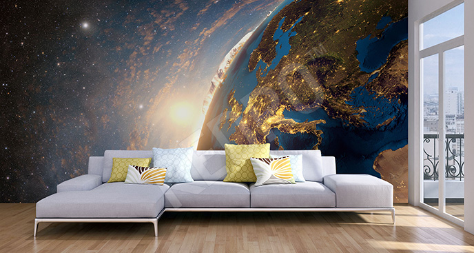 Fototapeta planeta Ziemia