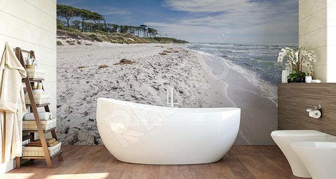 Fototapeta plaża do łazienki