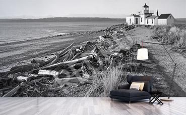 Fototapeta plaża retro