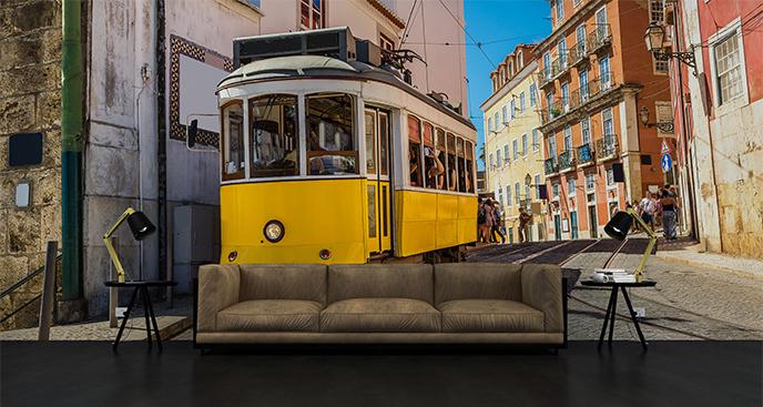 Fototapeta podróż przez Lizbonę
