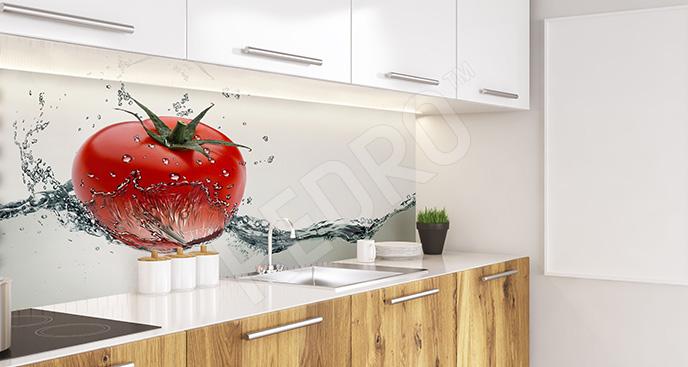 Fototapeta pomidory 3D