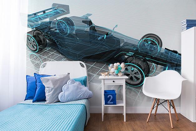 Fototapeta - Projekt samochodu