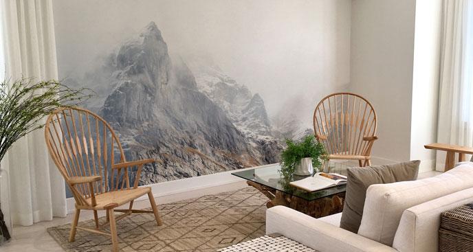 Fototapeta przestrzenna – góry