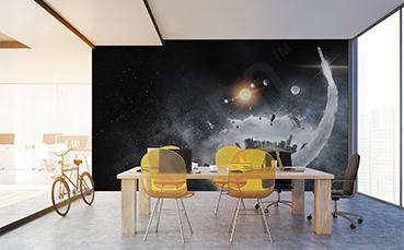 Fototapeta przestrzenna kosmos