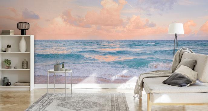 Fototapeta przestrzenna z oceanem