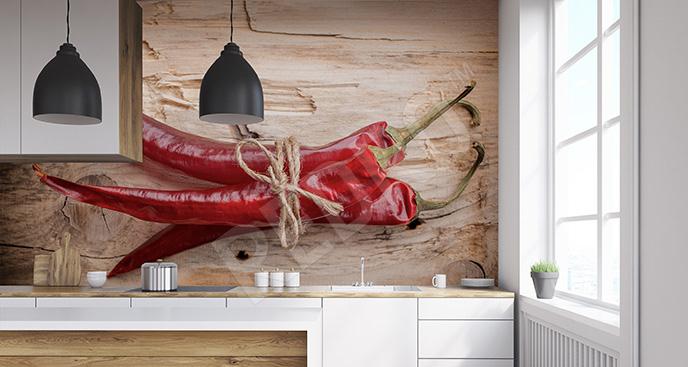 Fototapeta przyprawy chili