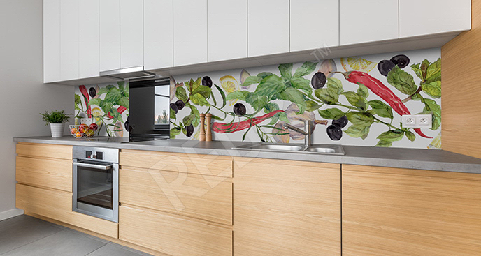 Fototapeta przyprawy do kuchni