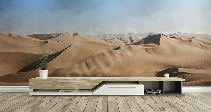 Fototapeta pustynny krajobraz 3D