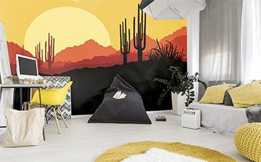 Fototapeta pustynny pejzaż