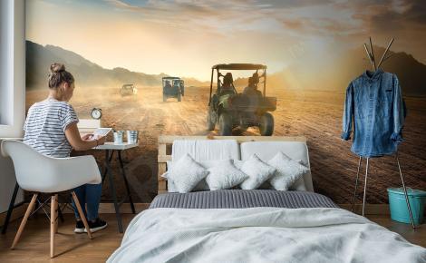 Fototapeta pustynny widok 3D