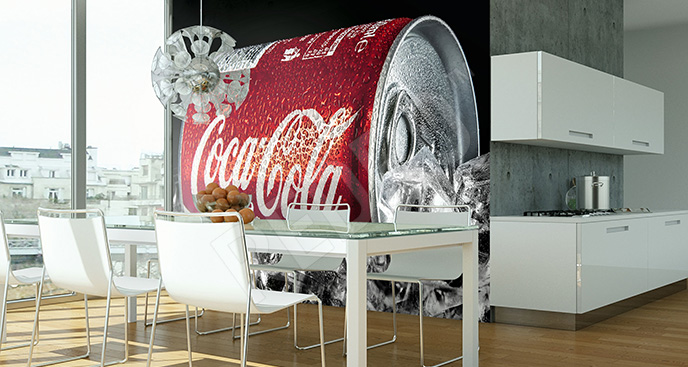 Fototapeta puszka Coca-Coli
