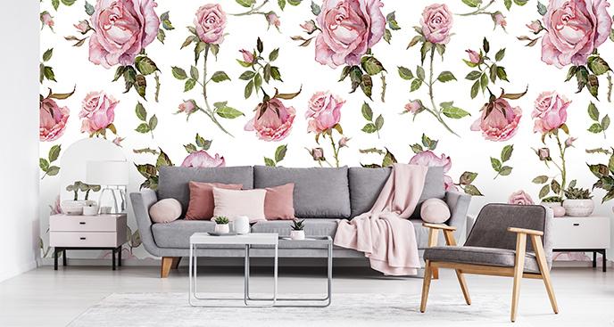 Fototapeta róże do salonu