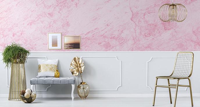 Fototapeta różowy marmur