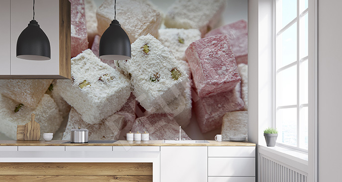 Fototapeta słodycze 3D
