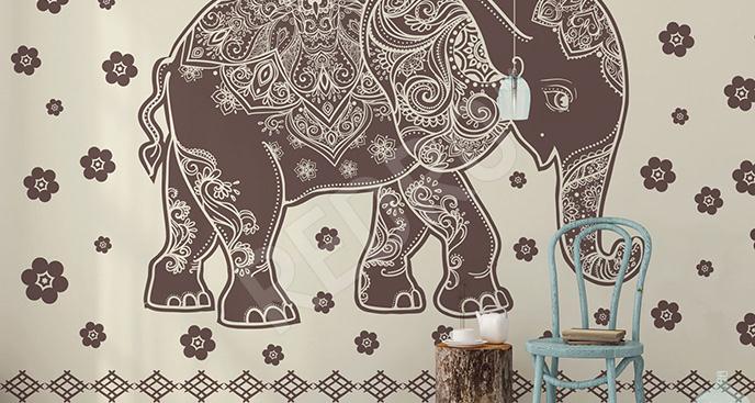 Fototapeta słoń indyjski