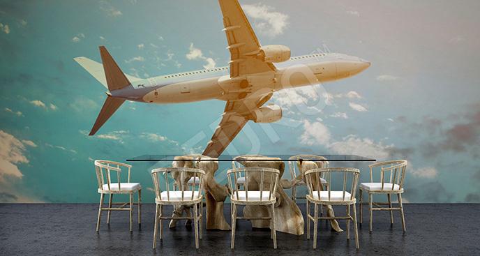 Fototapeta środek transportu samolot