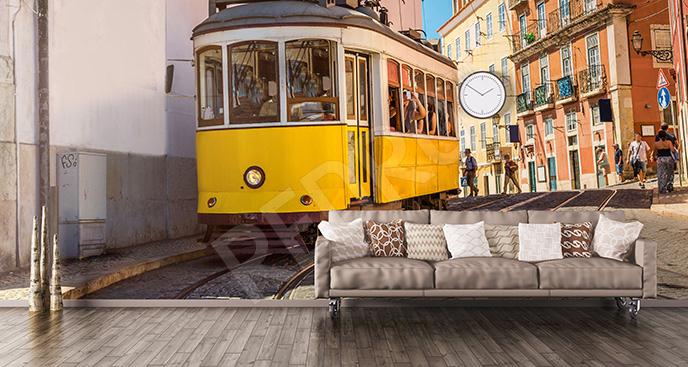 Fototapeta środek transportu w mieście