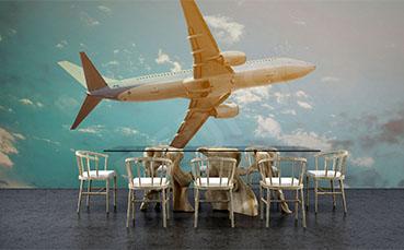 Fototapeta środki transportu samolot
