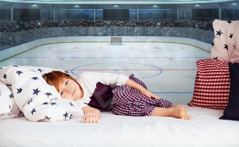 Fototapeta stadion hokejowy 3D