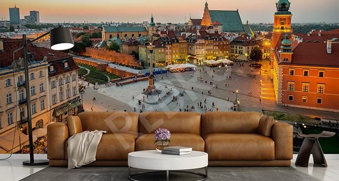 Fototapeta Stare Miasto w Warszawie