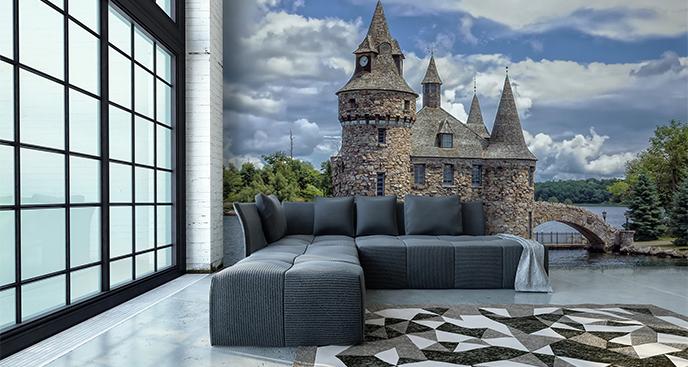 Fototapeta stary zamek 3D