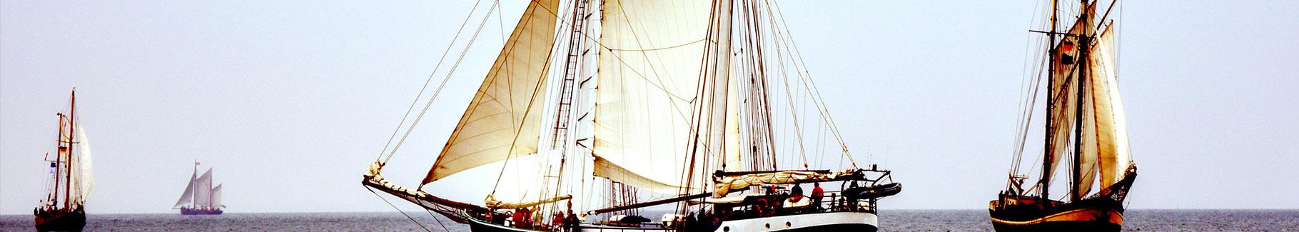 Fototapeta żeglujące statki