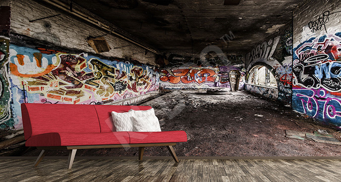 Fototapeta street art 3D