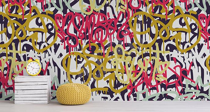 Fototapeta street art dla nastolatka