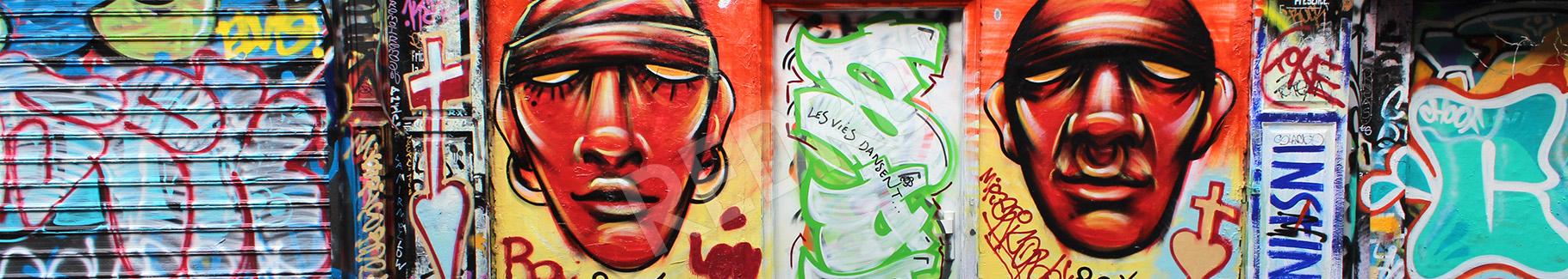 Fototapeta street art w Paryżu