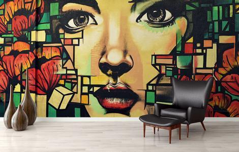 Fototapeta styl street art