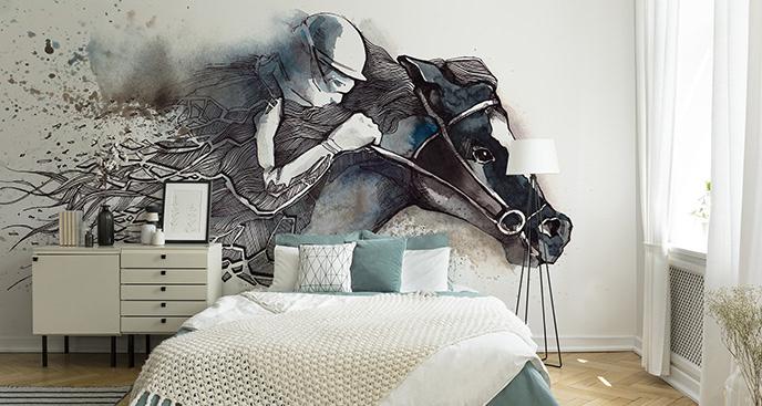 Fototapeta symbolizująca wyścigi konne