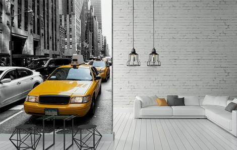 Fototapeta taksówki w Nowym Jorku
