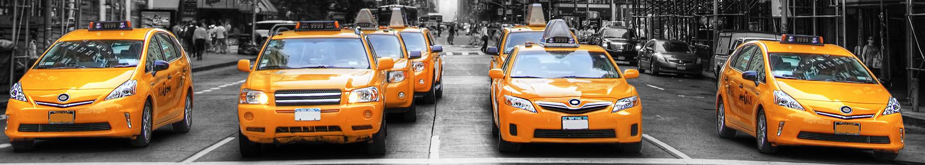 Fototapeta taksówki w NY