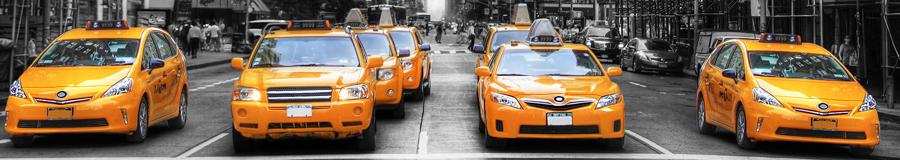 Fototapeta żółta taksówka