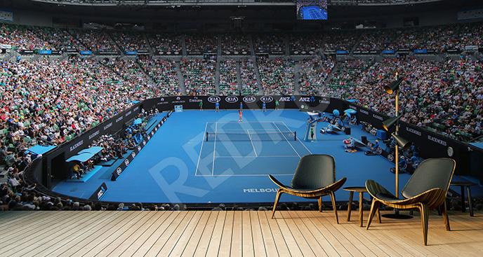 Fototapeta tenis 3D
