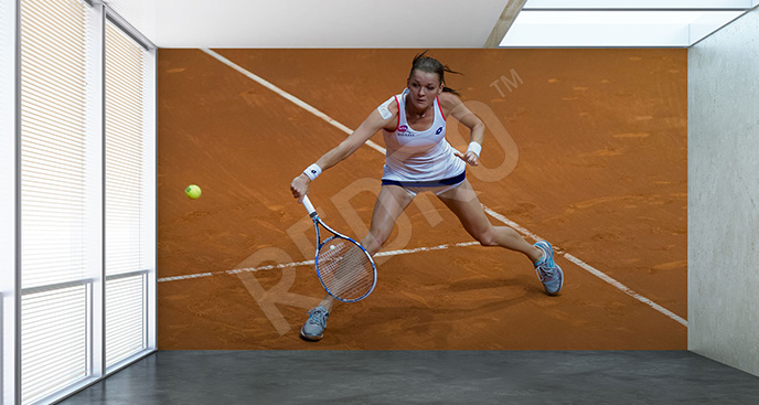 Fototapeta tenis: Agnieszka Radwańska